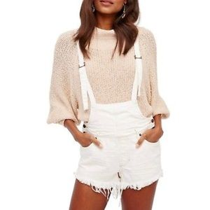 Free People strappy shortall